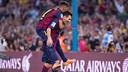 Neymar et Messi lors d'un match du Barça / PHOTO: GERMÁN PARGA-FCB