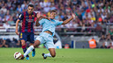 Xavi was key in Barça's 6-0 rout over Granada / PHOTO: GERMAN PARGA - FCB