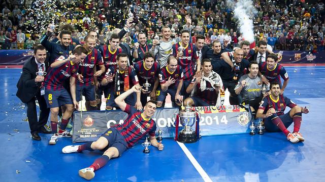 Los blaugranas han ganado cuatro Copas del Rey consecutivas