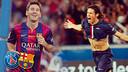 Messi y Cavani / FOTOMONTAJE FCB
