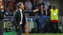 Luis Enrique has lost his first official game as FCB manager. PHOTO: MIGUEL RUIZ - FCB