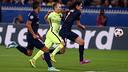Iniesta captained the team against PSG / PHOTO: MIGUEL RUIZ - FCB