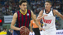 Satoransky played in the Super Cup Final / PHOTO: VÍCTOR SALGADO - FCB