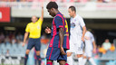Dongou's goal was disallowed for offside / PHOTO: GERMÁN PARGA - FCB