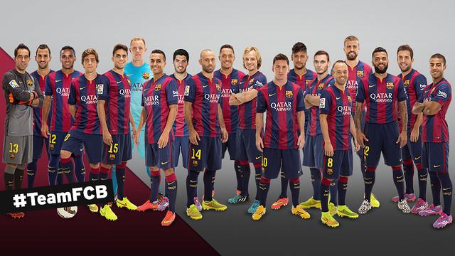 #TeamFCB