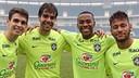 Oscar, Kaká, Robinho and Neymar. PHOTO: Instagram Neymar.
