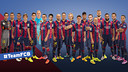 #TeamFCB Facebook players & FC Barcelona