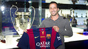 Ludovic Giuly won the Champions League with Barça in Paris in 2006 - PHOTO: VICTOR SALGADO-FCB