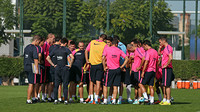 Luis Enrique wants his side to stay in tip top shape to take on two tenacious teams