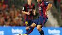 Mascherano started in midfield against Eibar. PHOTO: MIGUEL RUIZ - FCB