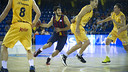 Abrines was outstanding against Gran Canària. PHOTO: V. SALGADO - FCB