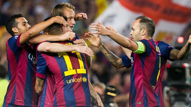 Gol del Barça contra l