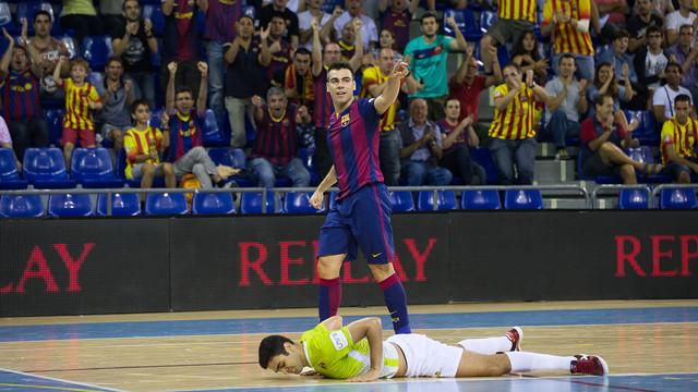 El Barça és el millor atac de la LNFS amb 31 gols