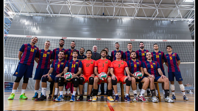 Volleyball men's team 2014/15