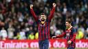 Gerard Piqué and Leo Messi both played in last season's win at thE Bernabeu / PHOTO: MIGUEL RUIZ - FCB