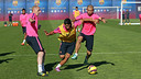 Luis Suárez is in the eighteen travelling to Madrid /PHFOTO: MIGUEL RUIZ-FCB