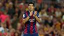 Luis Suárez has been named in the squad that faces Espanyol / MIGUEL RUIZ-FCB