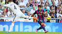 Luis Suarez fed Neymar on this play to make it 1-0 / PHOTO: MIGUEL RUIZ - FCB