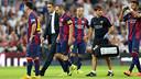 Andrés Iniesta left the field after 71 minutes / PHOTO: MIGUEL RUIZ - FCB