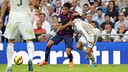 Neymar, seen here with Carvajal, was on target after three minutes / PHOTO: MIGUEL RUIZ - FCB