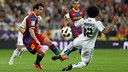 Messi was on target against Real Madrid in 2011 / PHOTO: MIGUEL RUIZ