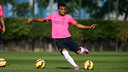 Rafinha was among the players that trained this morning. PHOTO: MIGUEL RUIZ-FCB.
