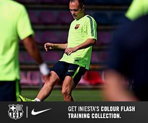 FC Barcelona Squad Training 14-15