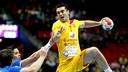 Kiril Lazarov, autor de 13 goles amb Macedonia. / FOTO:IHF