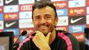 Luis Enrique during a press conference / FOTO: MIGUEL RUIZ - FCB
