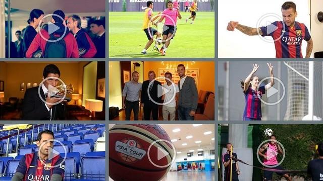 Els vídeos del mes d'octubre 2014