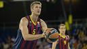 Justin Doellman led Barça with a team-high 25 points / PHOTO: GERMÁN PARGA - FCB