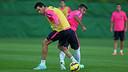 20 man squad for the game against Almeria / PHOTO: MIGUEL RUIZ - FCB