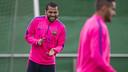 Alves, mardi / PHOTO: VÍCTOR SALGADO - FCB
