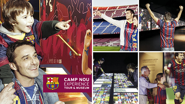 Taking the whole family on the Camp Nou Experience is now easier than ever