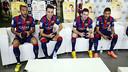 Neymar, Messi, Munir, Alves FIFA 15