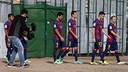 Les joueurs de l'équipe première sont intervenus dans plusieurs spots et activités de promotion/ PHOTO : MIGUEL RUIZ - FCB