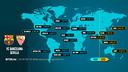 Les horaires du FC Barcelone-Seville CF /FCB