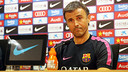 Luis Enrique a parlé en conférence de presse avant le match face à Séville / PHOTO : MIGUEL RUIZ - FCB