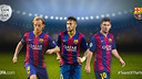 Rakitic, Neymar and Messi are the Bará players nominated for UEFA Team of the Year / FCB