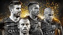 Piqué, Jordi Alba, Dani Alves and Mascherano are in the running for the World XI / PHOTO: @FIFPro
