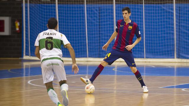El Barça B es líder de Segunda