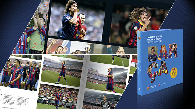 A la venda el llibre 'Barça, torna la il·lusió'