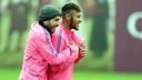 Neymar Jr i l'exvalencianista Jordi Alba són a la llista / FOTO: ARXIU FCB
