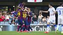 El Barça B quiere reencontrarse con la victoria en el Mini / FOTO: ARCHIVO FCB
