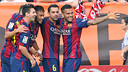 Barça go into the game on the back of big wins / PHOTO: ARCHIVE FCB