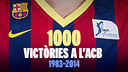 Barça have made it to 1,000 victories in the Spanish championship