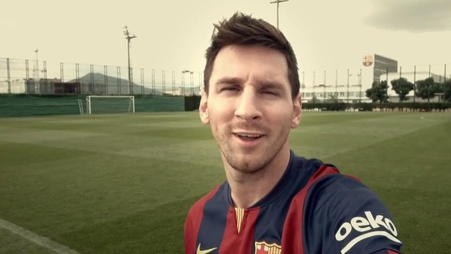 Leo Messi and other players have taken part in a welcome video for Beko / PHOTO: MIGUEL RUIZ - FCB
