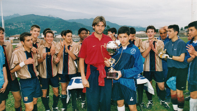 Tito Vilanova''s U16 B team were winners of the  Coppa Maestrelli /  PHOTO: PREMIO MAESTRELLI