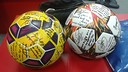 The two record breaking match balls / PHOTO: Facebook Leo Messi