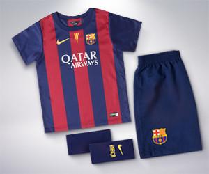 FC Barcelona Kids' Home Kit